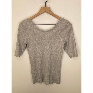 J. Crew Tops - J. Crew Short Sleeve Solid Tee Shirt Gray Size S